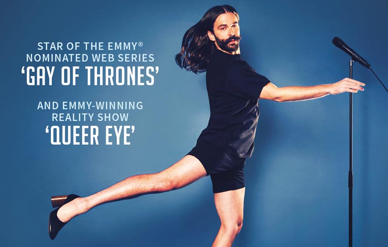 Jonathan Van Ness, Tour, TotalNtertainment, Comedy, Manchester