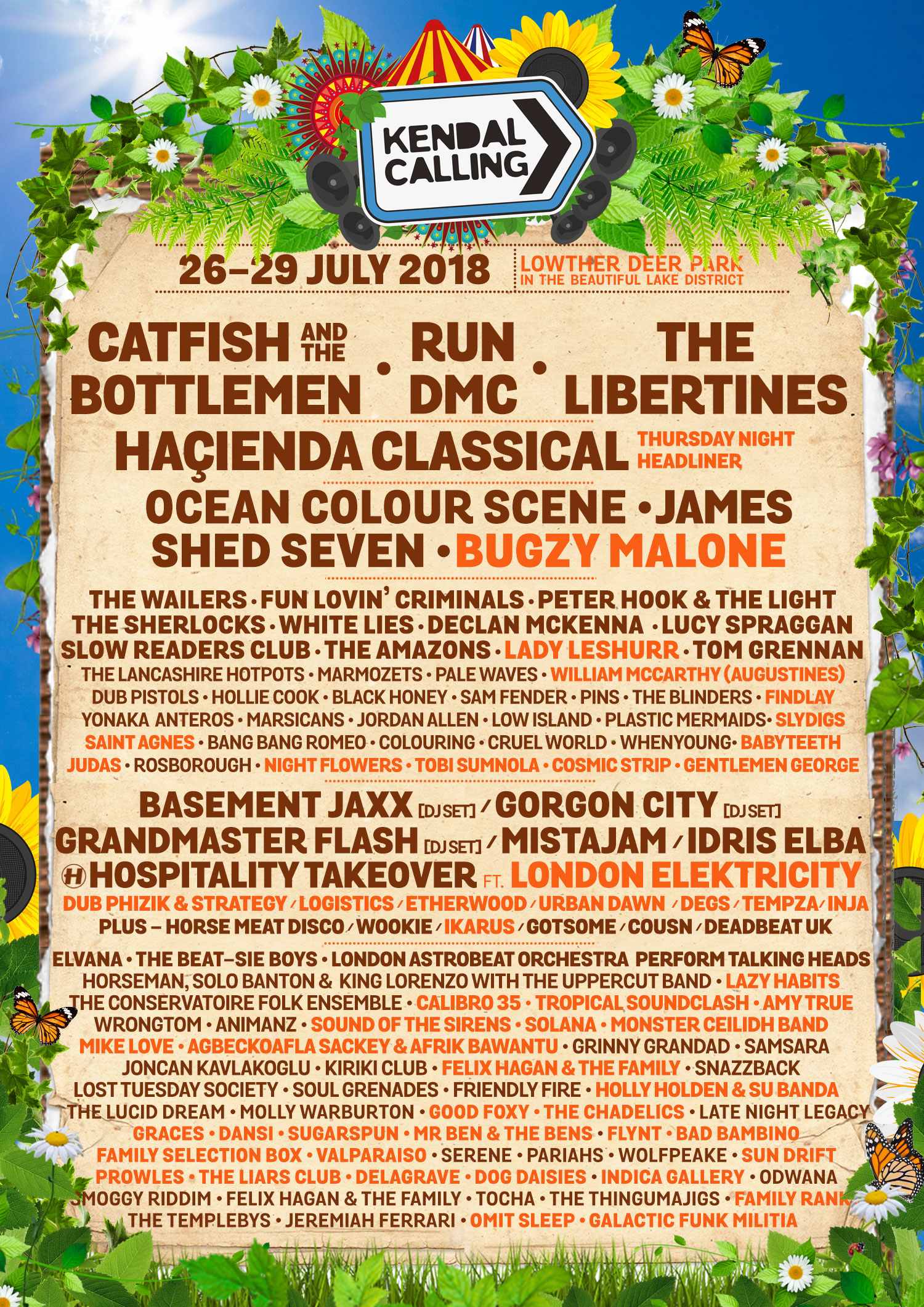 Kendal Calling, Festival, lakeDistrict, totalntertainment, music