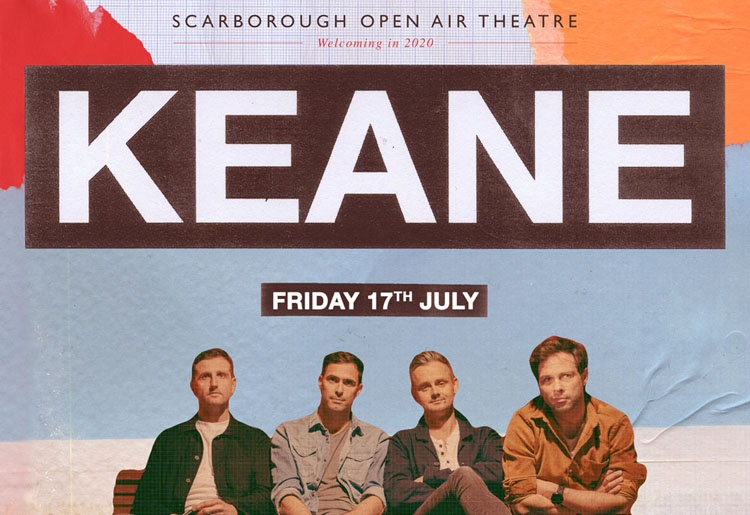 Keane, Music, Scarborough, Open Air Theatre, TotalNtertainment
