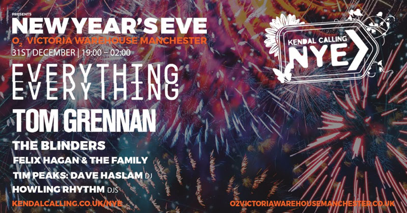 Kendal Calling, New Years Eve, Music, Manchester, TotalNtertianment
