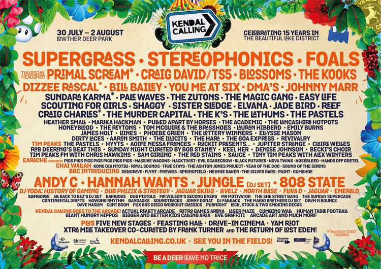 Kendal Calling, Music, Festival, TotalNtertainment, Kendal