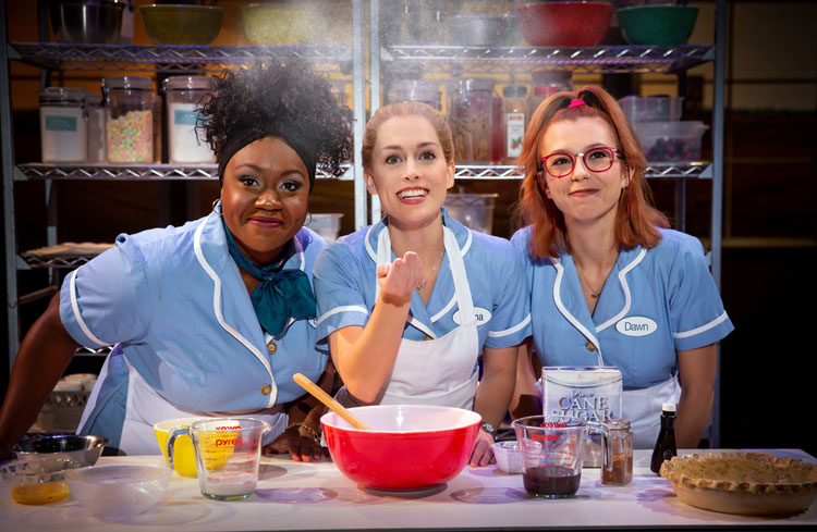 Waitress, Musical, Theatre, Tour, Manchester, TotalNtertainment