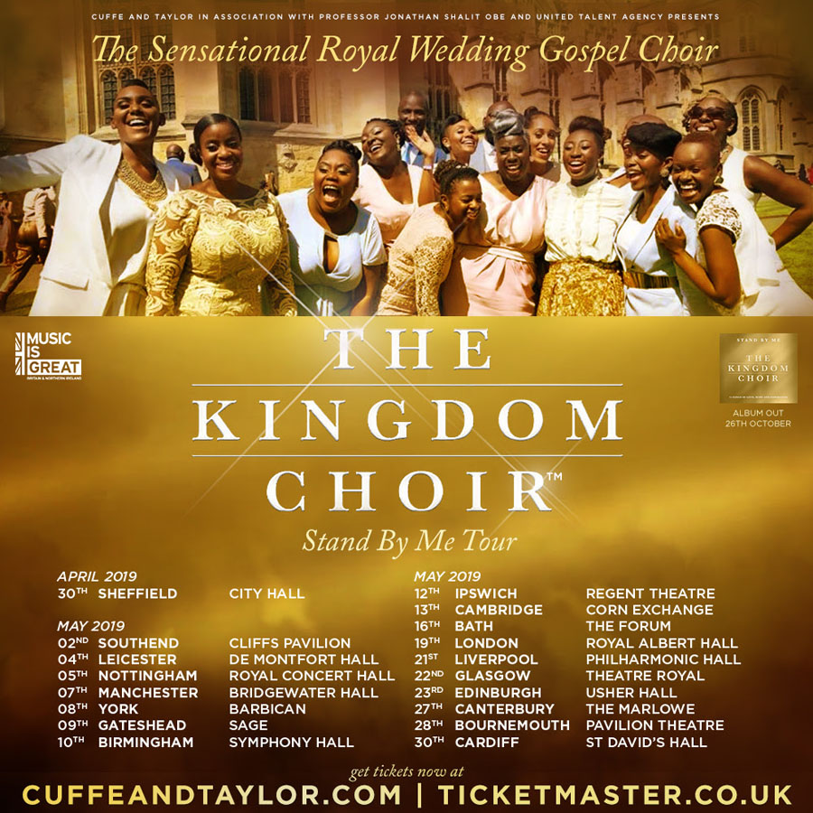 Kingdom Choir, Sheffield, Music, Stand By Me, Tour, TotalNtertainment