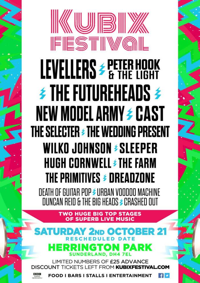Kubix Festival, Music News, TotalNtertainment, Herrington Park, Sunderland