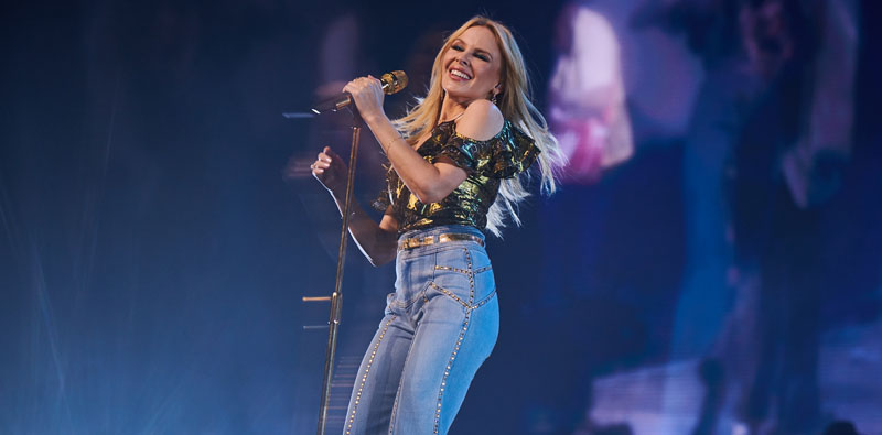 Kylie Minogue, Scarborough, Open Air Theatre, TotalNtertainment