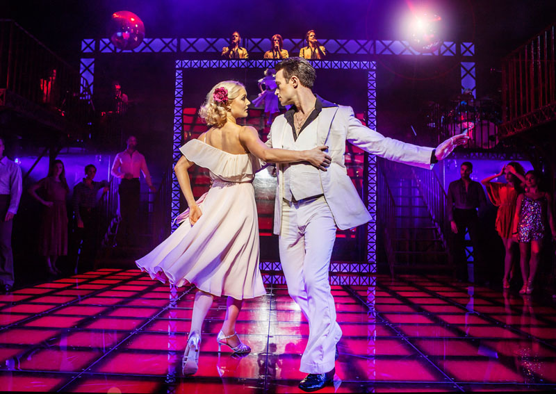 Saturday Night Fever, Manchester, Palace Theatre, TotalNtertainment, Review, Gillian Merrigan-Potter