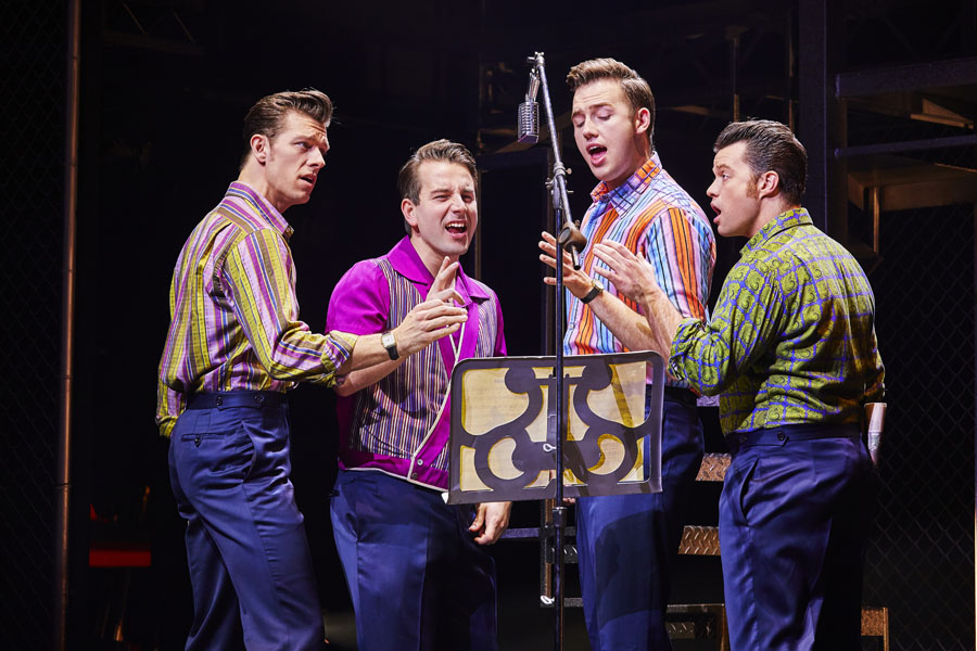 Jersey Boys, Manchester, Review, TotalNtertainment, Musical, Gillian Potter-Merrigan