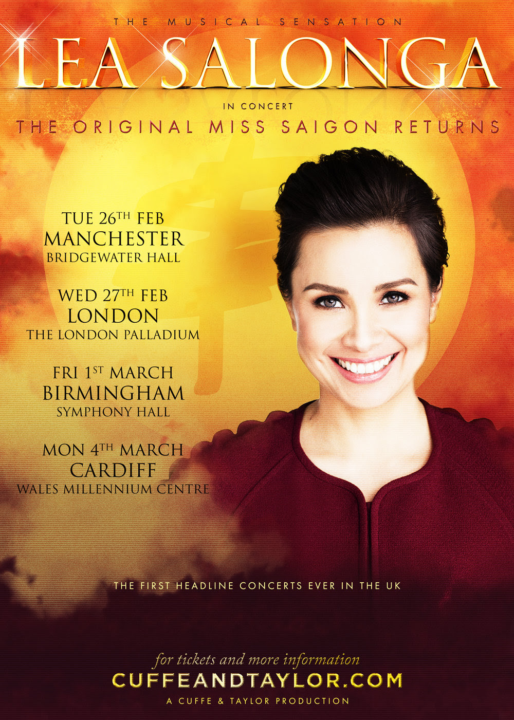 Lea Salonga, Miss Saigon, Tour, Manchester, TotalNtertainment