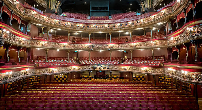 'Positively Open' Leeds Grand Theatre this week.