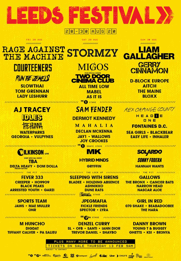 Leeds festival, Music, Comedy, Bramham Park, TotalNtertainment