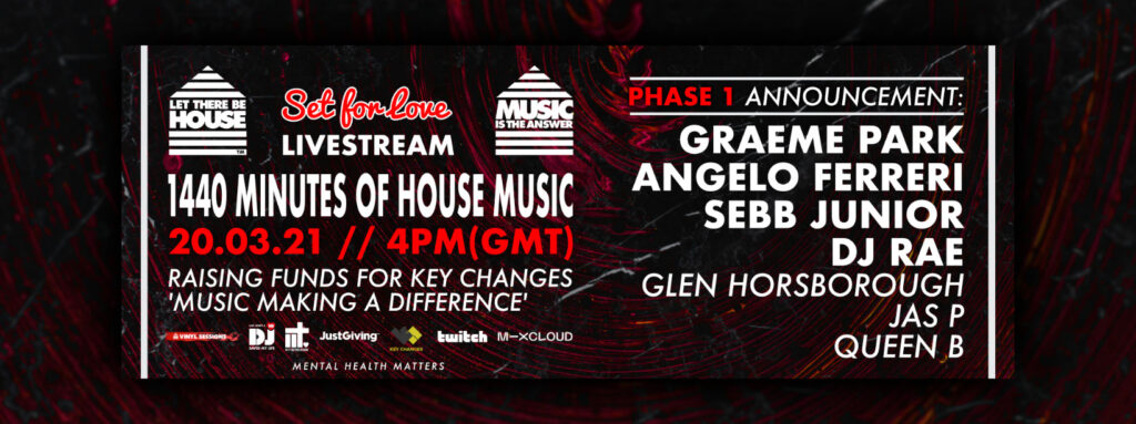 Let There Be House, Music, Live Stream, TotalNtertainment,