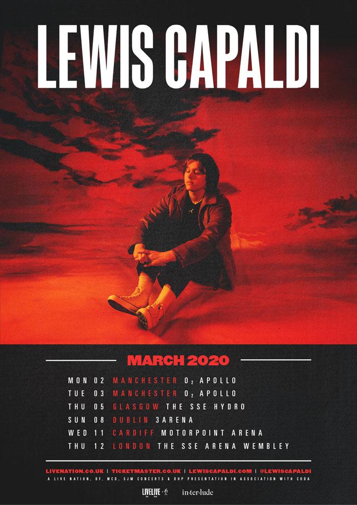 Lewis Capaldi, Tour, Manchester, TotalNtertainment, Music