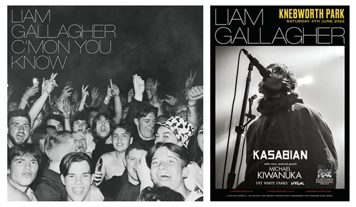Liam Gallagher, C'mon You Know, Music News, Knebworth Hall, TotalNtertainment