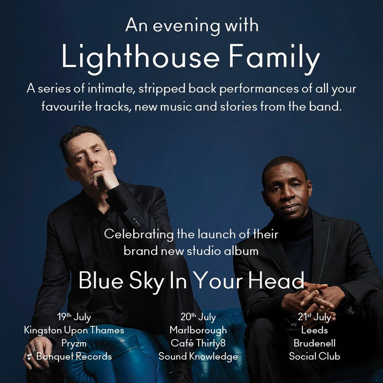 Lighthouse Family, Tour, TotalNtertainment, Leeds, Music
