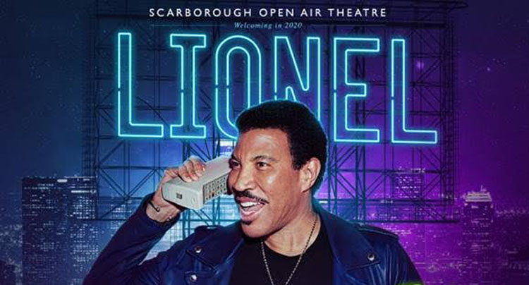 Lionel Richie, Open Air Theatre, Scarborough, TotalNtertainment, Music