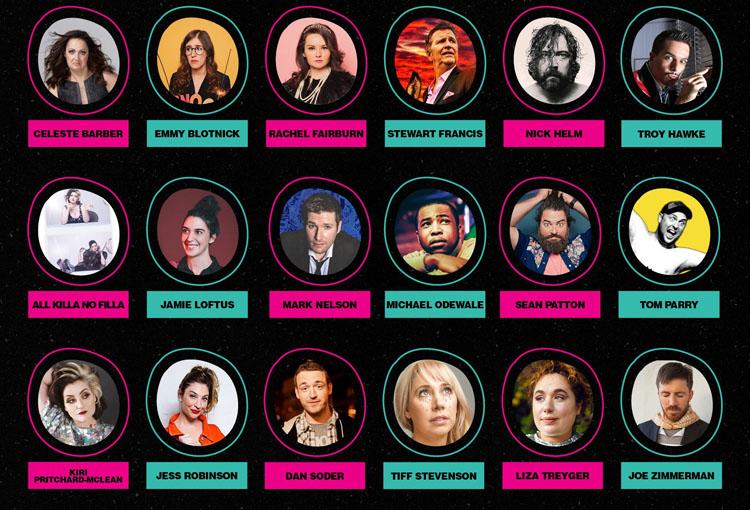 Live Nation, Comedy, TotalNtertainment, Edinburgh Fringe, Comedy festival