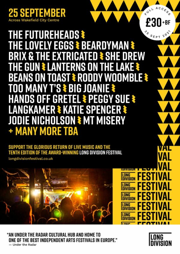 Long Division, Music, Festival, TotalNtertainment, Wakefield