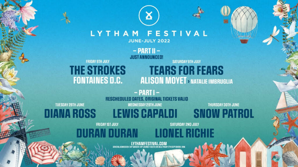 Lytham Festival, Music News, TotalNtertainment, The Strokes, Tears For Fears