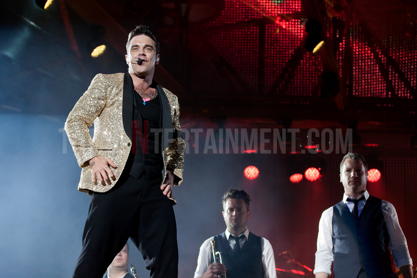 Robbie Williams, Heavy Entertainment, totalntertainment, Manchester, Etihad