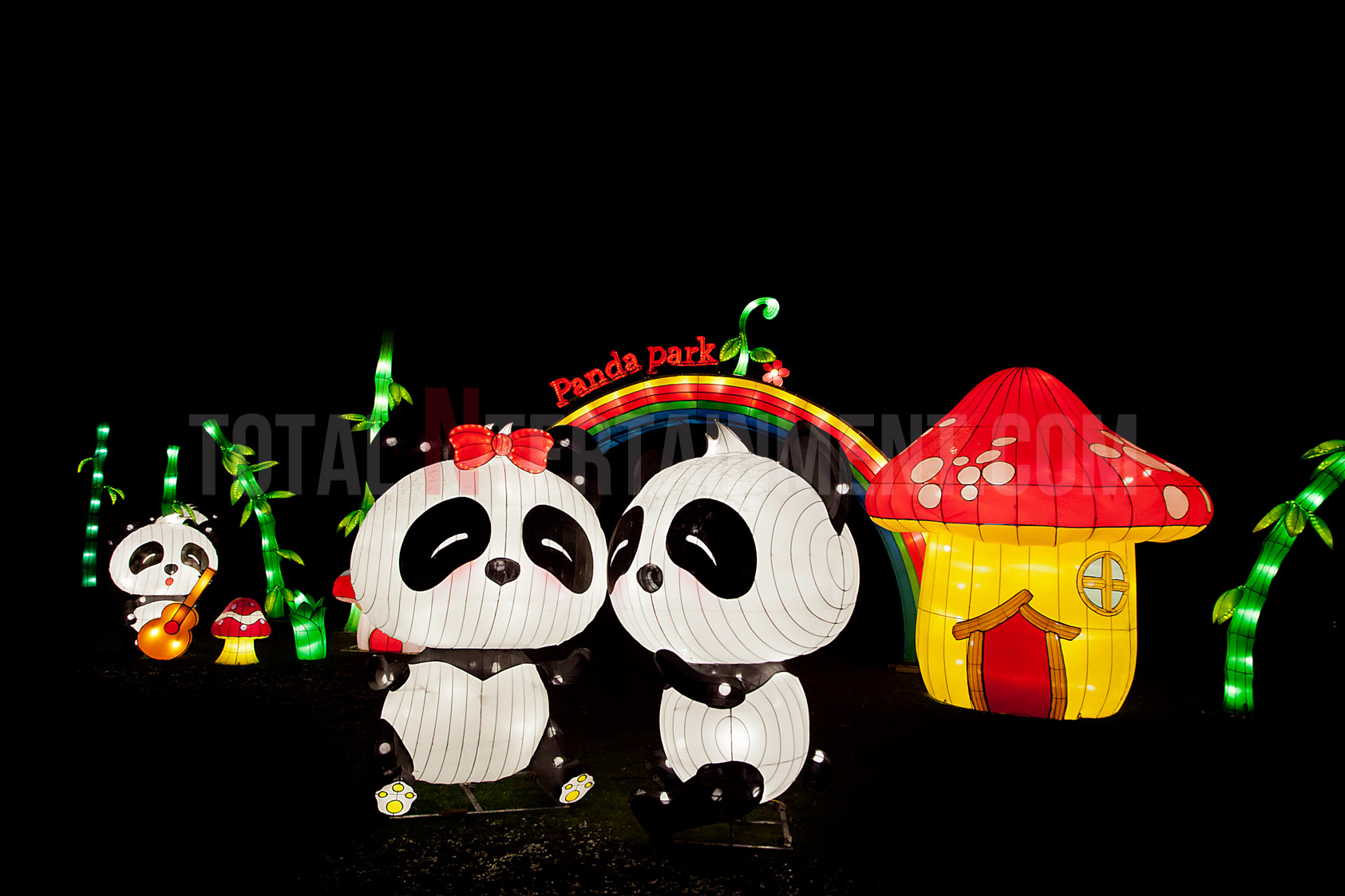 The Magical Lantern Festival heads to Yorkshire again this year.