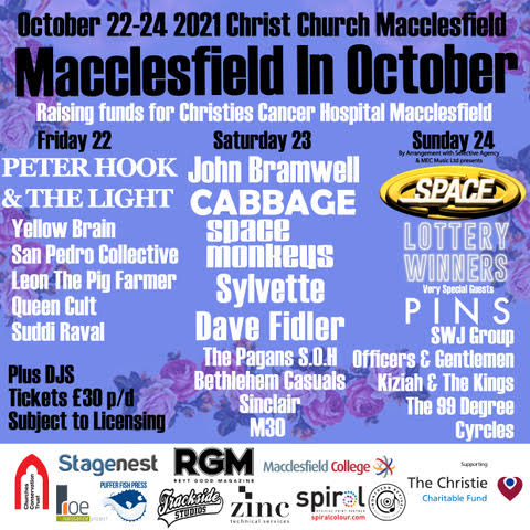 Macclesfield in October, Music, Festival, TotalNtertainment