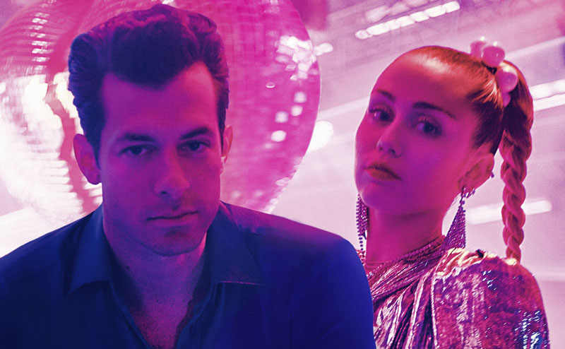 Mark Ronson, Miley Cyrus, New Single, TotalNtertainment, Music