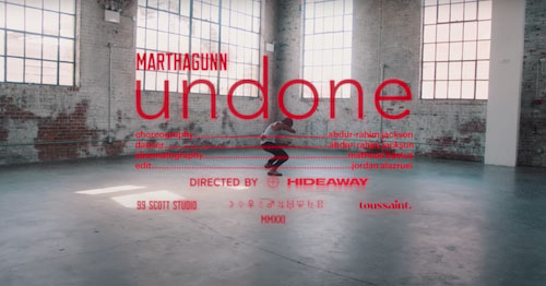 MarthaGunn, Undone, Music News, New Single, TotalNtertainment