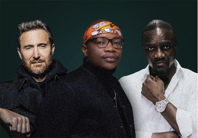 Master KG, David Guetta, Akon, Shine A Light, Music, TotalNtertainment
