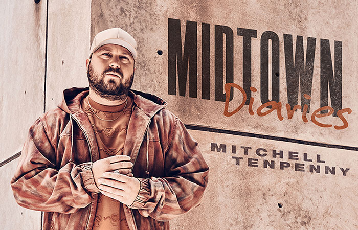 Mitchell Tenpenny, Midtown Diaries, New EP, Music News, Country, TotalNtertainment