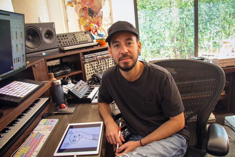 Mike Shinoda, Music, New Album, New Single, TotalNtertainment, Dropped Frames