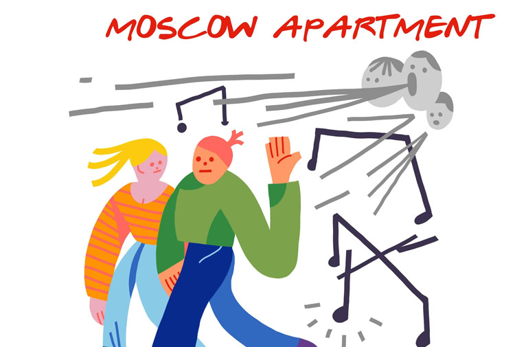 Moscow Apartment, New Single, Music, New Girl, TotalNtertainment