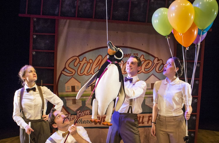 My Popper's Penguins, Manchester, Musical, Theatre, TotalNtertainment