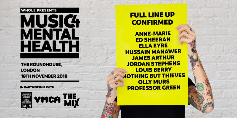 Music 4 Mental Health, TotalNtertainment, Music, Ed Sheeran, Olly Murs