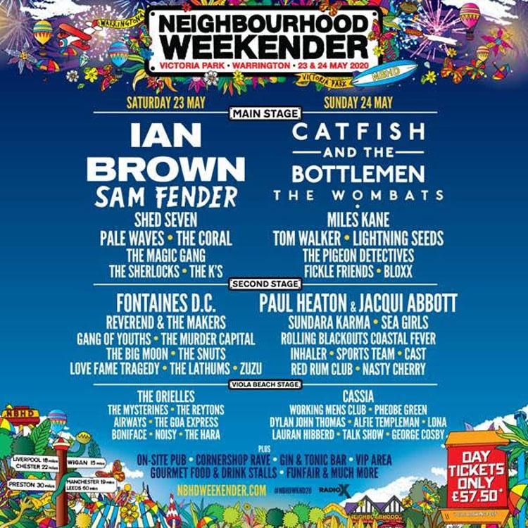 Neighbourhood Weekender, Music, Warrington, TotalNtertainment, Festival