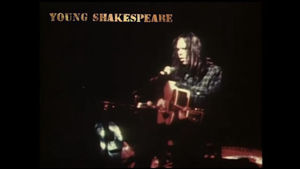 Neil Young, Young Shakespeare, Music, New Release, TotalNtertainment