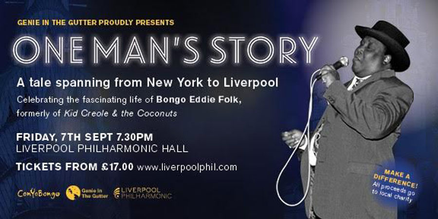 Phil Kaila Announced To Play Bongo Eddie In One Man's Story