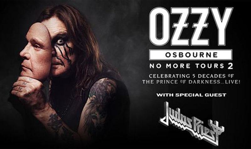 Ozzy Osbourne, Tour, TotalNtertainment, Manchester Judas Priest