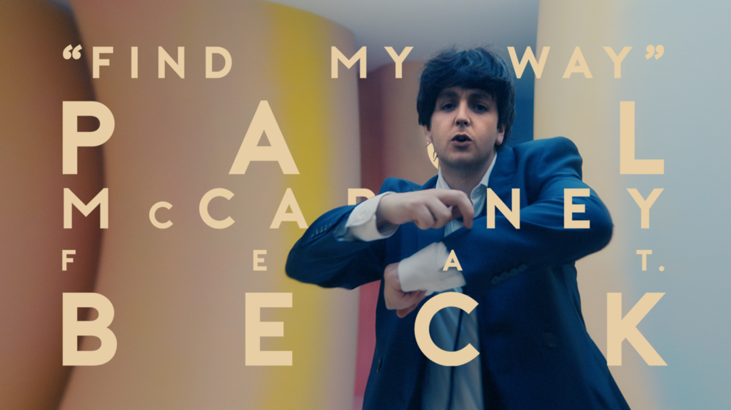 Paul McCartney, Beck, Find My Way, Music News, New Single, TotalNtertainment