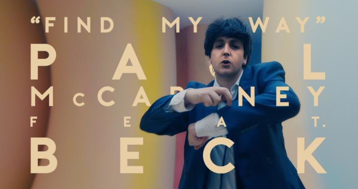 'Find My Way' Paul McCartney feat Beck
