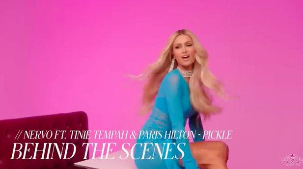Paris Hilton, Music, Pickle, TotalNtertainment, Behind the scenes