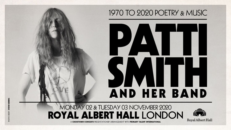 Patti Smith, Tour, TotalNtertainment, London, Royal Albert Hall, Music