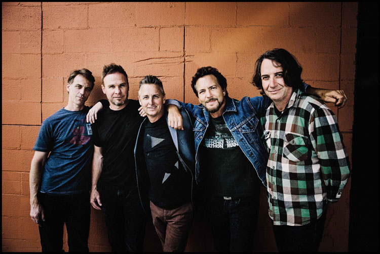 Pearl Jam, Music, Tour, BST, TotalNtertainment, New Album