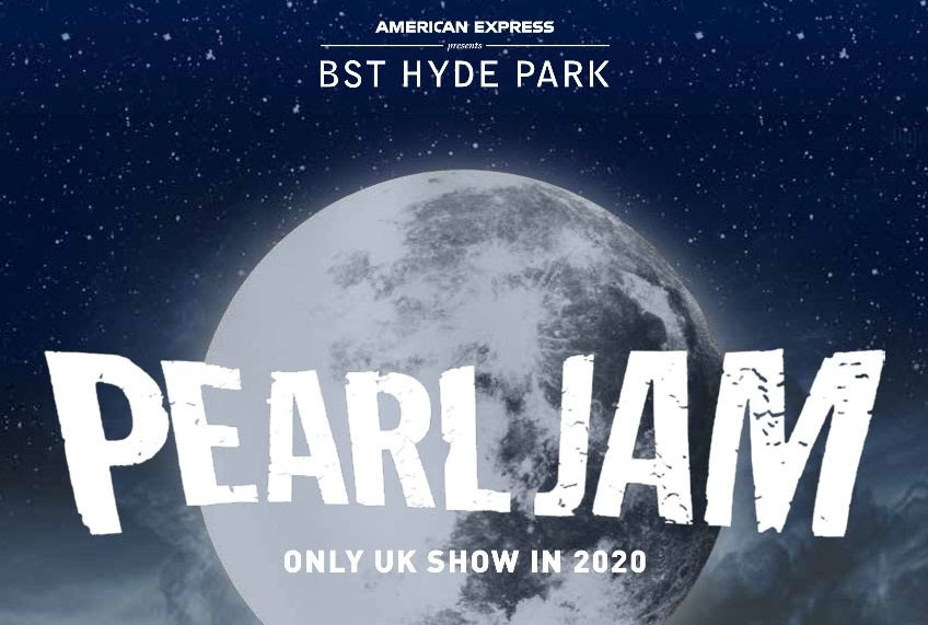Pearl Jam, Music, Tour, BST, TotalNtertainment, Hyde Park, London