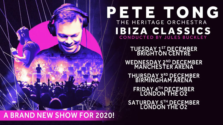 Pete Tong, Music, Tour, TotalNtertainment, Manchester