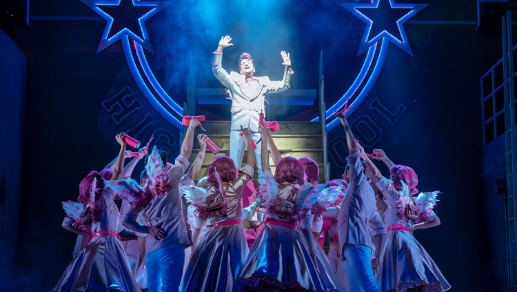 Peter Andre, Grease, Musical, Theatre, Tour, Manchester, TotalNtertainment