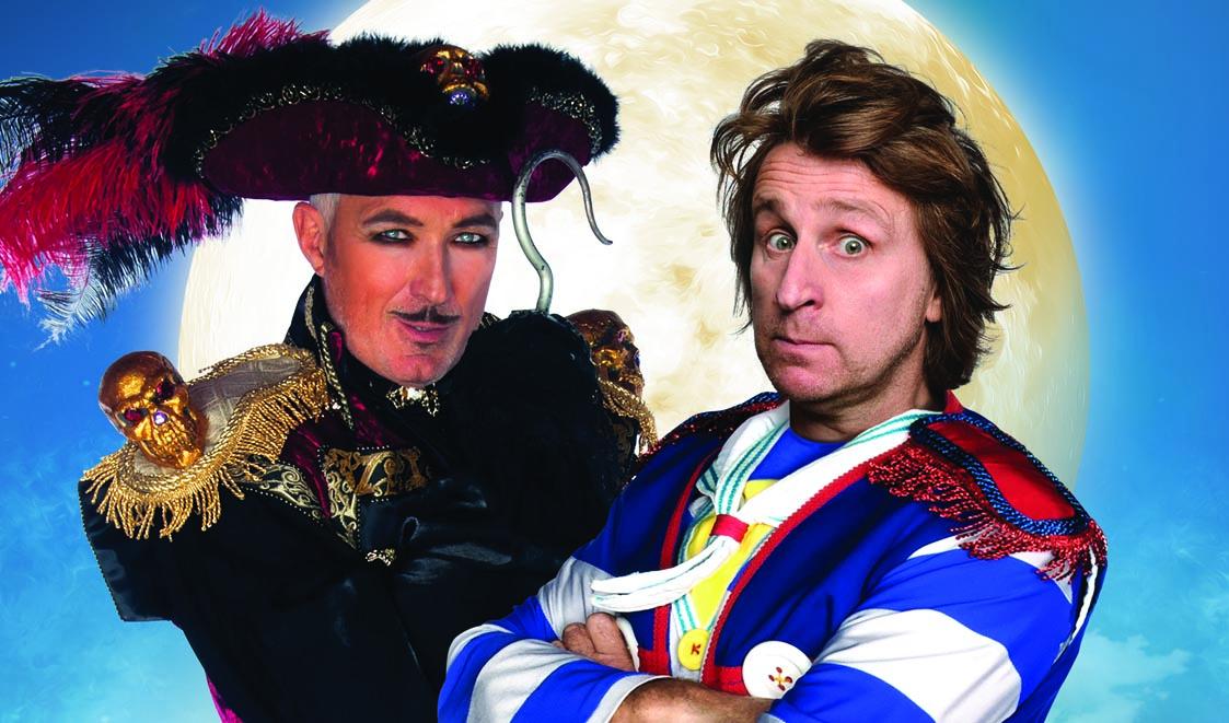 Peter Pan, Martin Kemp, Milton Jones, theatre, musical, totalntertaniment