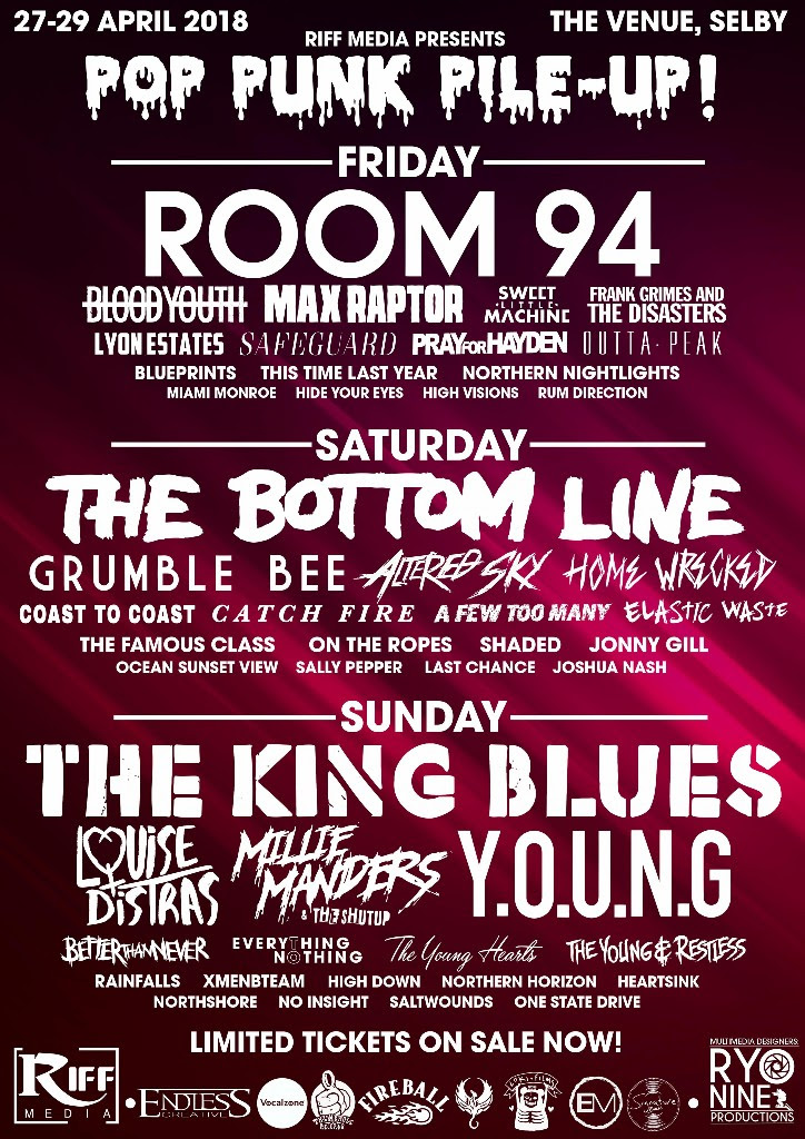 Pop Punk, Festival, Yorkshire, Music, totalntertainment