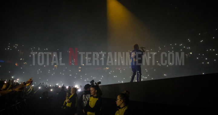 Post Malone and fans party hard at a sold-out Manchester Arena