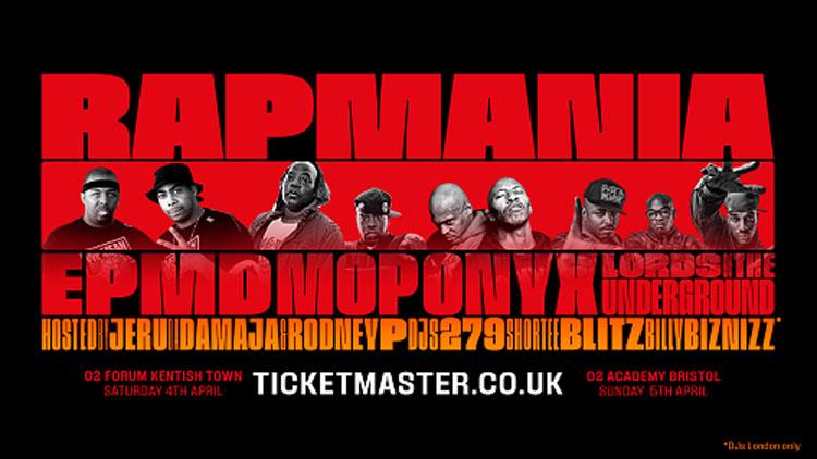 Rap Mania, Music, Tour, TotalNtertainment, London
