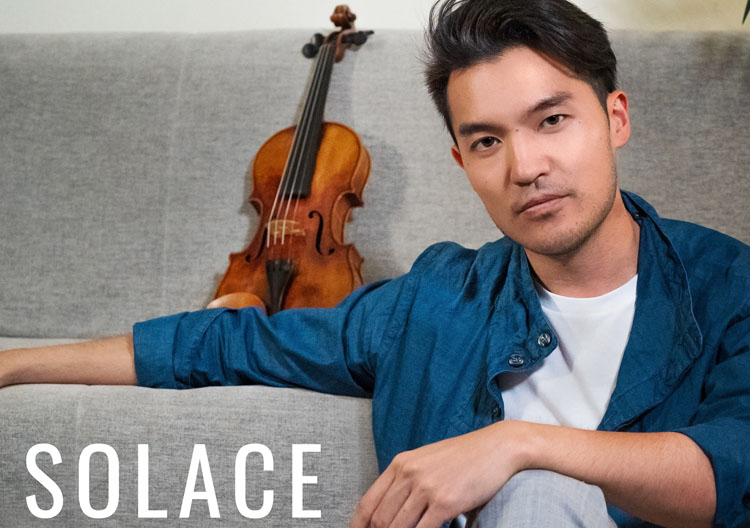 Ray Chen, Music, Violinist, TotalNtertainment, New Album, Solace
